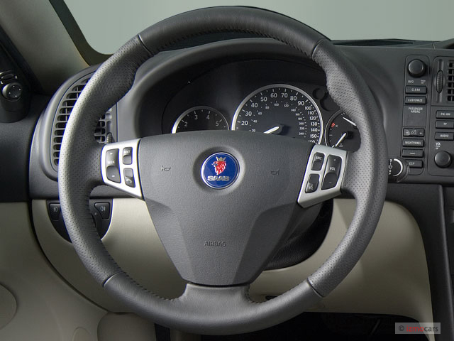 Ford Edge Gas Mileage >> Image: 2007 Saab 9-3 5dr Wagon Steering Wheel, size: 640 x 480, type: gif, posted on: December 7 ...