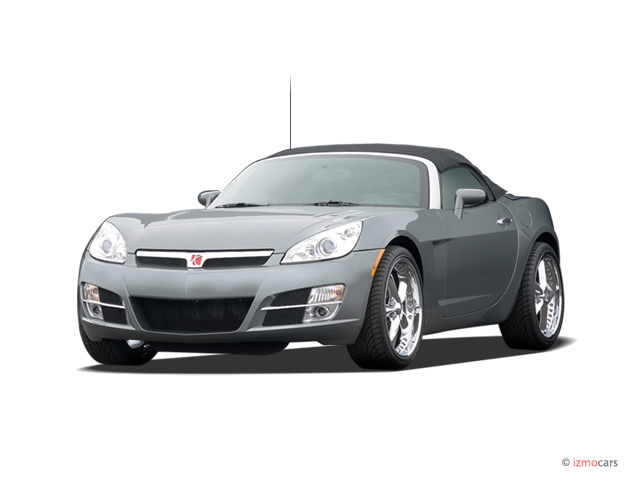 2007 Saturn Sky 2-door Convertible Angular Front Exterior View