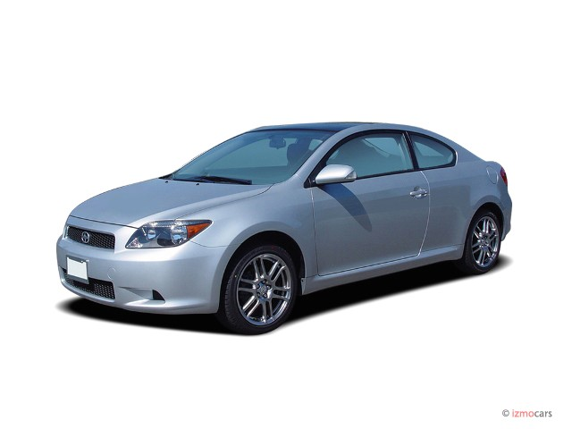2007 Scion tC 3dr HB Manual (Natl) Angular Front Exterior View