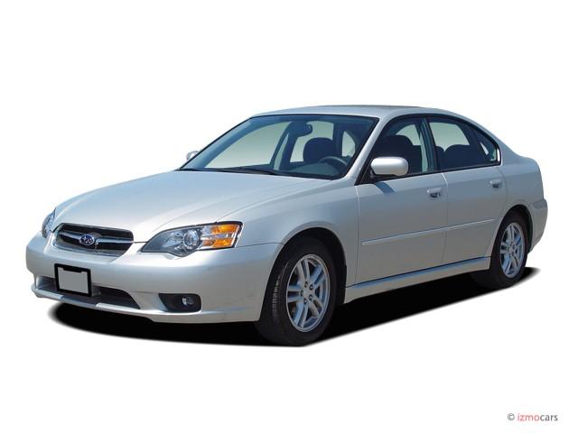 2007 Subaru Legacy Sedan 4-door H4 AT Angular Front Exterior View