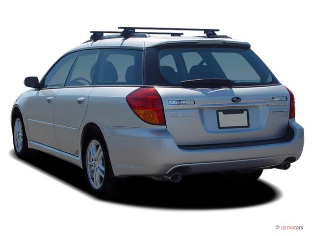 image 2007 subaru legacy wagon 4 door h4 mt angular rear. Black Bedroom Furniture Sets. Home Design Ideas