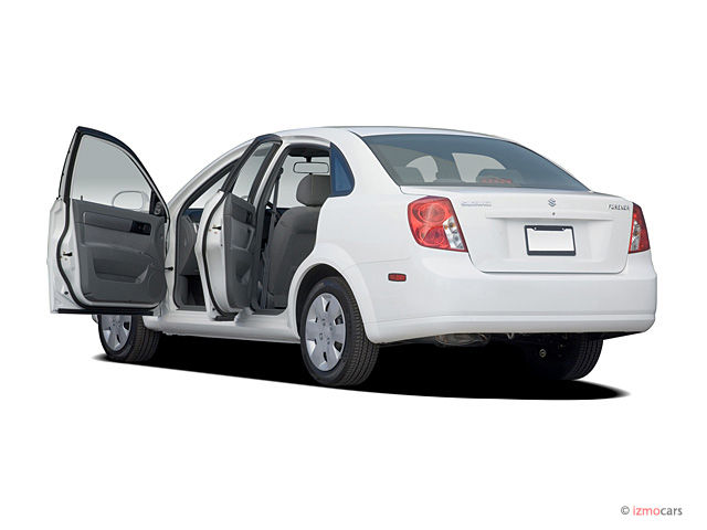 image 2007 suzuki forenza 4 door sedan auto open doors. Black Bedroom Furniture Sets. Home Design Ideas