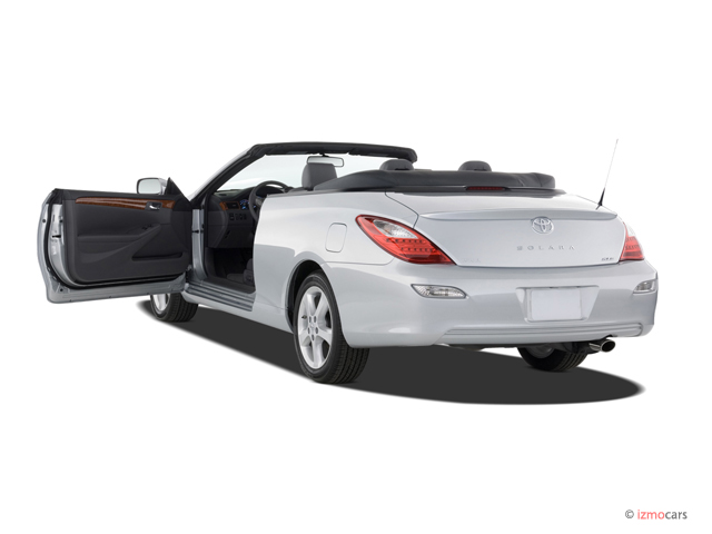 2007 Toyota Camry Solara 2 Door Convertible V6 Auto SLE (Natl) Open Doors