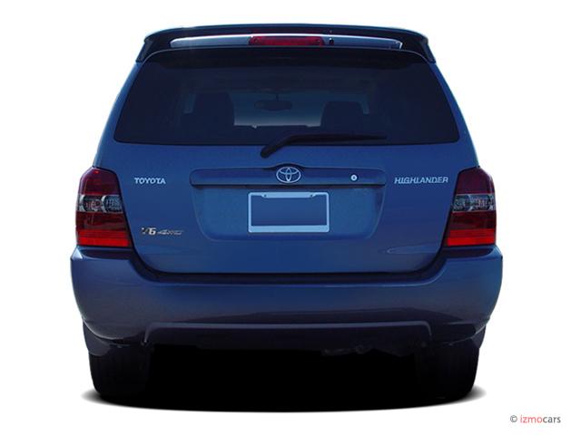 image 2007 toyota highlander 4wd 4 door v6 limited w 3rd row natl rear exterior view size. Black Bedroom Furniture Sets. Home Design Ideas