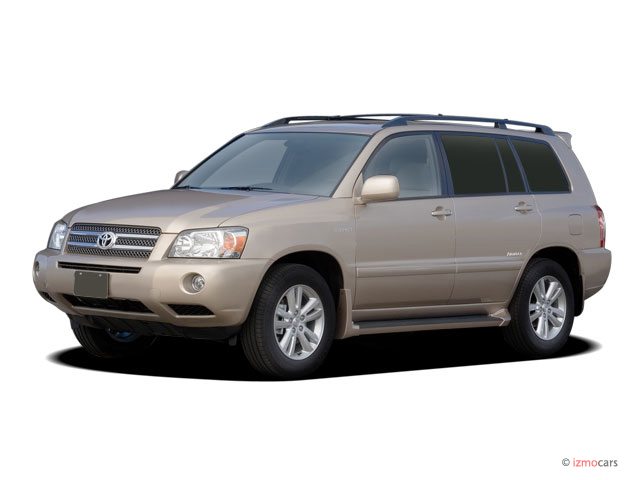 2007 Toyota Highlander Hybrid 2WD 4-door Limited (Natl) Angular Front Exterior View
