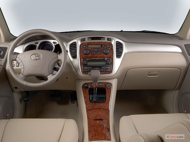 Image: 2007 Toyota Highlander Hybrid 2WD 4-door Limited (Natl) Dashboard, size: 640 x 480, type
