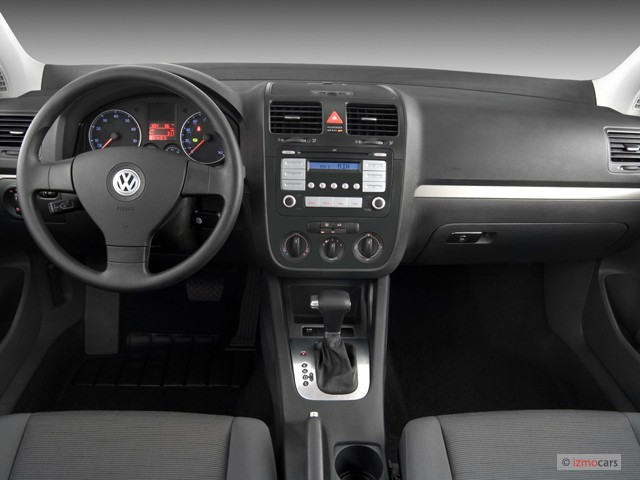 Image: 2007 Volkswagen Rabbit 2-door HB Auto Dashboard ...