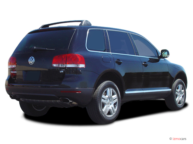 image 2007 volkswagen touareg 4 door v8 angular rear. Black Bedroom Furniture Sets. Home Design Ideas