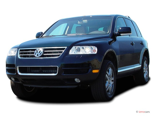 image 2007 volkswagen touareg 4 door v8 angular front. Black Bedroom Furniture Sets. Home Design Ideas