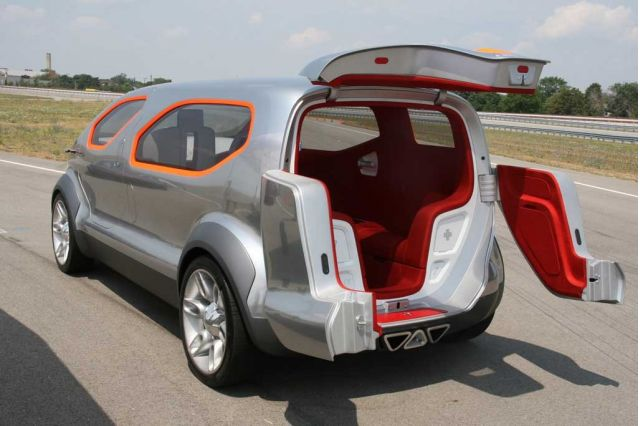2007 Ford Airstream Concept Drive