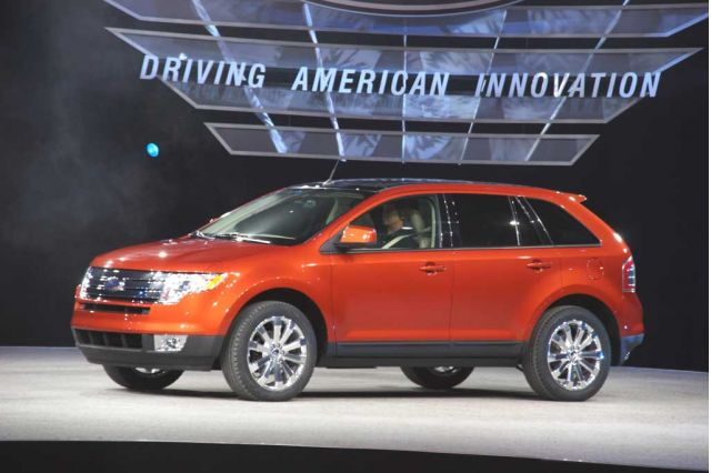 Ford Edge Detroit Auto Show