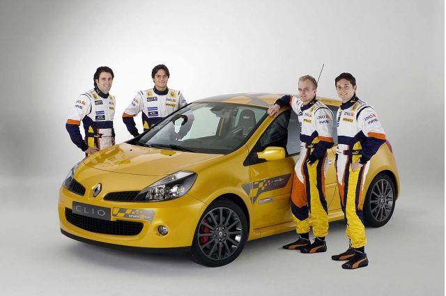 2007 Renault Clio Renault F1 Team