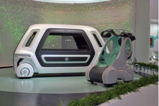 2007 Suzuki PIXY and SSC Concept