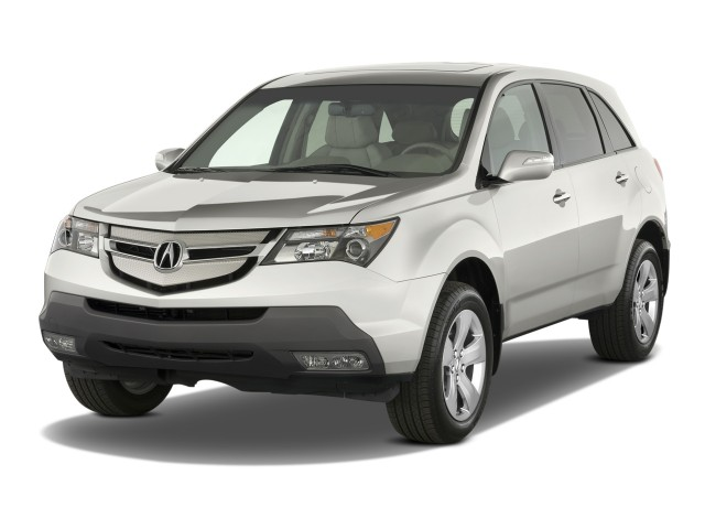2008 Acura MDX 4WD 4-door Sport/Entertainment Pkg Angular Front Exterior View