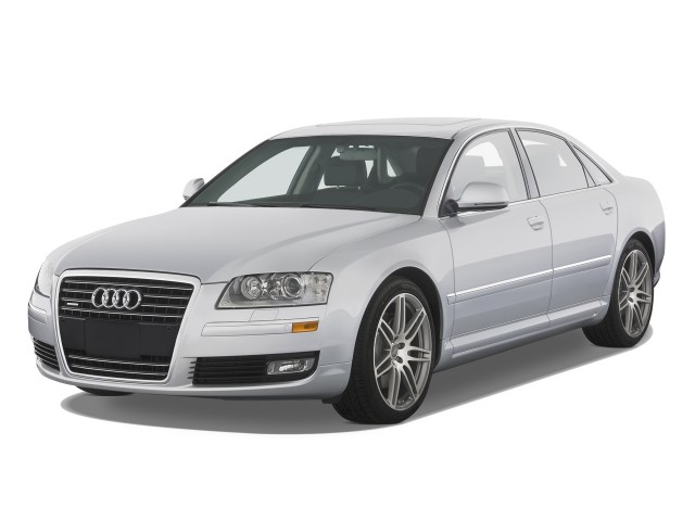 2008 Audi A8 4-door Sedan Angular Front Exterior View
