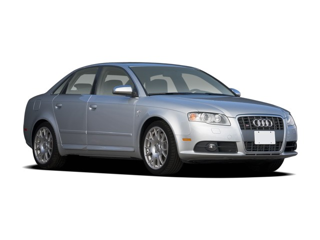 2008 Audi S4 4-door Sedan Auto Angular Front Exterior View