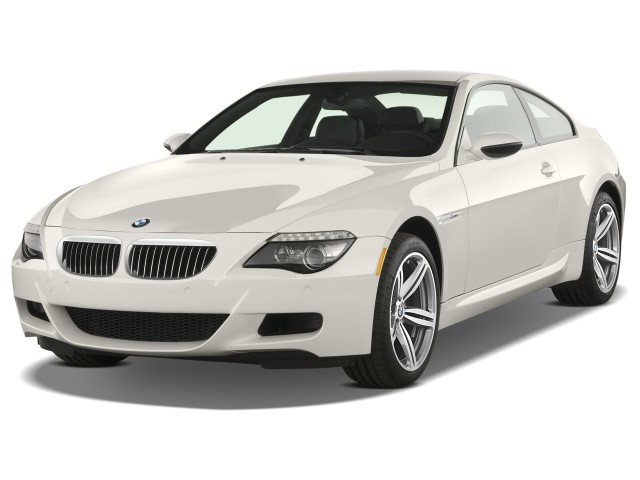2008 BMW 6-Series 2-door Coupe M6 Angular Front Exterior View