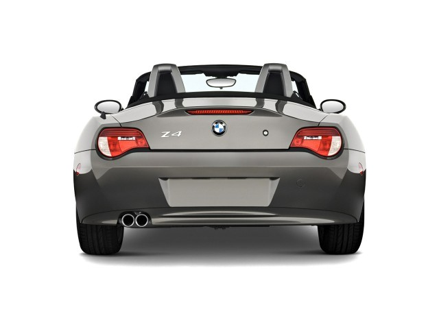 Image 2008 Bmw Z4 Series 2 Door Roadster 3 0si Rear