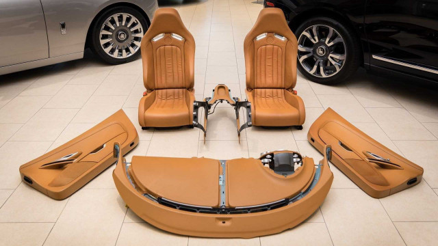 2008 Bugatti Veyron interior for sale