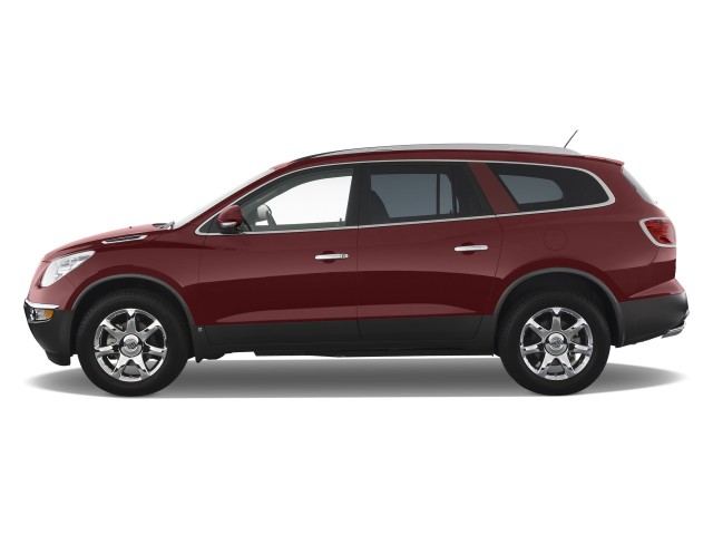 2008 Buick Enclave AWD 4-door CXL Side Exterior View