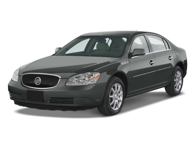 2008 Buick Lucerne 4-door Sedan V6 CXL Angular Front Exterior View