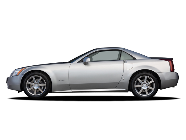 Image: 2008 Cadillac XLR 2-door Convertible Side Exterior View, size