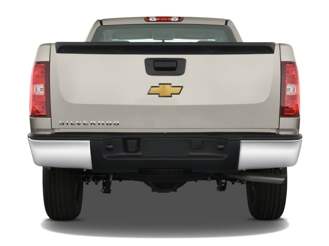 image 2008 chevrolet silverado 1500 2wd reg cab 133 0 work truck rear exterior view size 640. Black Bedroom Furniture Sets. Home Design Ideas