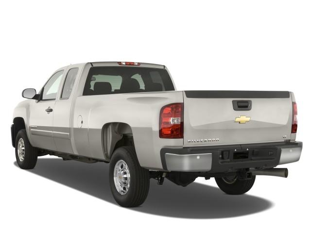 Image: 2008 Chevrolet Silverado 2500HD 2WD Ext Cab 157.5 ...