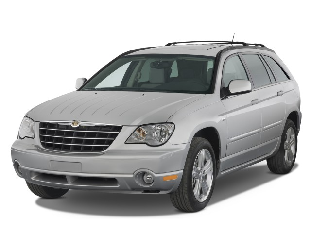 2008 Chrysler Pacifica 4 Door Wagon Touring Fwd Angular Front Exterior View