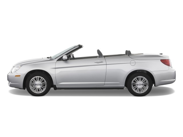 2008 Chrysler Sebring 2-door Convertible Touring FWD Side Exterior View