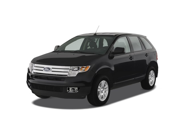 2008 Ford Edge 4-door SEL FWD Angular Front Exterior View