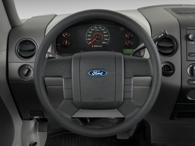"Image: 2008 Ford F-150 2WD Reg Cab 126"" XL Steering Wheel, size: 640 x 480, type: gif, posted on ..."