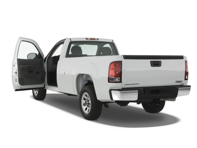 "Image: 2008 GMC Sierra 1500 2WD Reg Cab 119.0"" Work Truck ..."