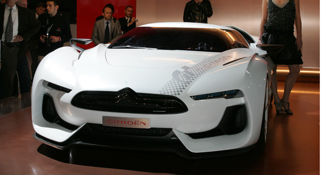 Citroen teamed up with Sony to build the one-off GT Concept