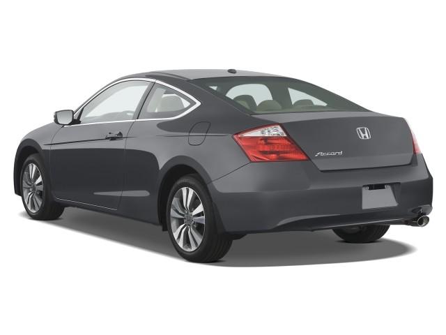 Beau 2008 Honda Accord Coupe 2 Door I4 Auto EX L Angular Rear Exterior View