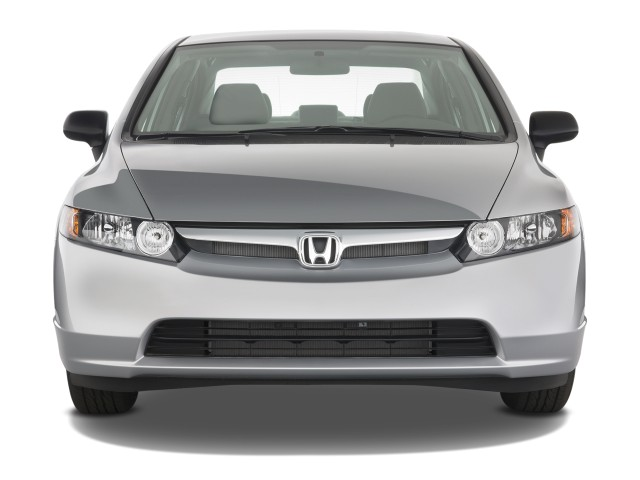 Image 2008 Honda Civic Sedan 4 Door Man Dx Front Exterior
