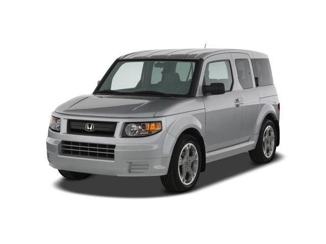 2008 Honda Element 2WD 5dr Auto SC Angular Front Exterior View