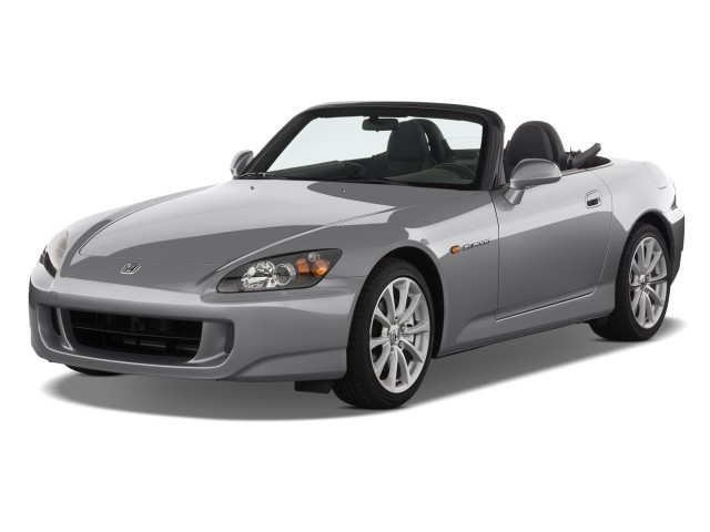 2008 Honda S2000 2-door Convertible Angular Front Exterior View