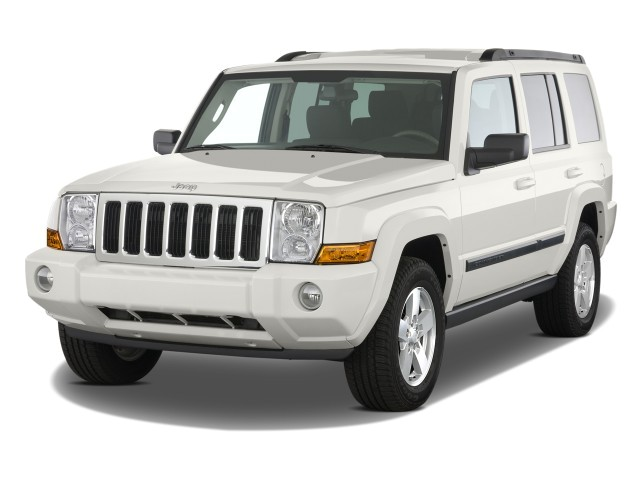 2008 Jeep Commander RWD 4-door Sport Angular Front Exterior View
