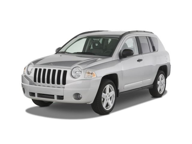 2008 Jeep Compass FWD 4-door Limited Angular Front Exterior View