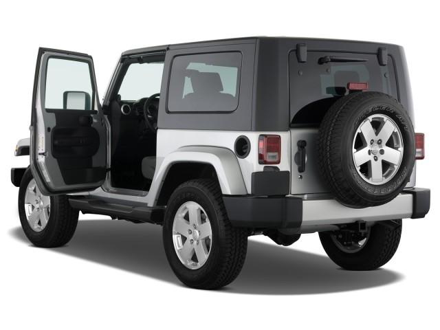 Image 2008 Jeep Wrangler 4wd 2 Door Sahara Open Doors