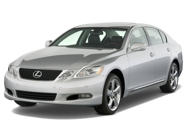 2008 Lexus GS 460 4-door Sedan Angular Front Exterior View