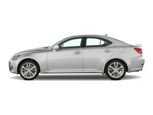 2008 Lexus IS 350 4-door Sport Sedan Auto Side Exterior View