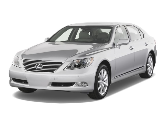 2008 Lexus LS 460 4-door Sedan LWB Angular Front Exterior View
