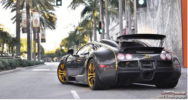 The 1-of-1 Mansory Linea Vincero Bugatti Veyron is for sale