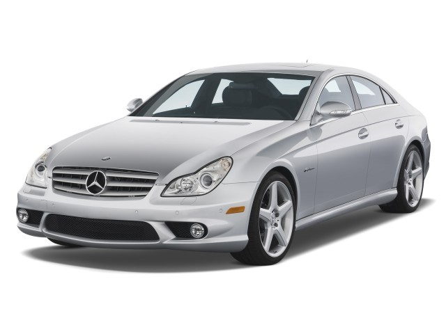2008 Mercedes-Benz CLS Class 4-door Sedan 6.3L AMG Angular Front Exterior View