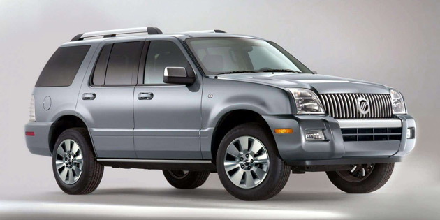 The Mercury Mountaineer SUV is expected to be discontinued next year