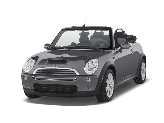 2008 Mini Cooper Convertible 2 Door S Angular Front Exterior View