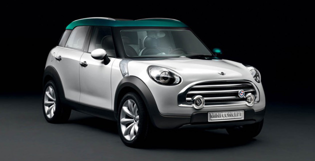 No Mini will be longer than 4.1m – the exact length of the Crossover Concept