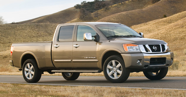 If the project goes ahead the redesigned Titan will share its platform with the Dodge Ram and arrive in showrooms by 2011